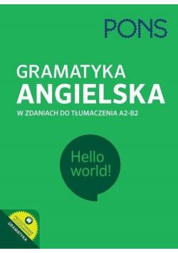 Gramatyka ang. w zdaniach do tłumacz. A2/B2 PONS