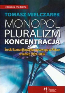 Monopol Pluralizm Koncentracja