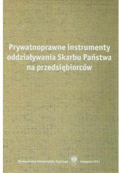Prywatnoprawne instrumenty oddziaływania Skarbu Państwa na przedsiębiorstwo Nowa