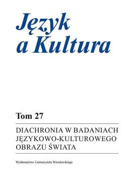 Diachronia w badaniach językowo-kulturowego..