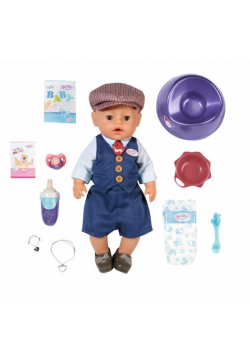 Baby born - Soft Touch City Boy 43cm