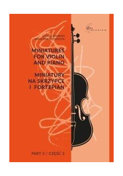 Miniatury na skrzypce i fortepian cz.3