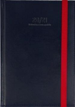 Kalendarz Nauczyciela A5 2020/2021 Nebraska granat