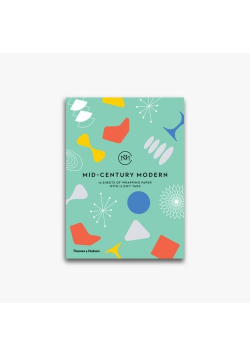 Mid-Century Modern Gift Wrapping Paper Book