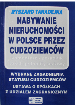 Nabywanie nieruchomości w Polsce przez cudzoziemców