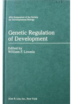 Genetic Regulation of Development