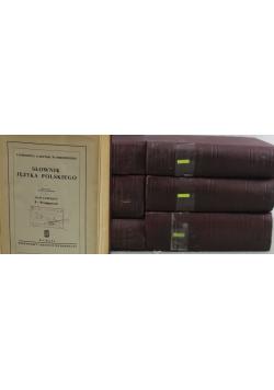 Słownik języka polskiego 7 Tomów Reprint z ok 1912 r