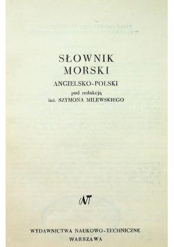 Słownik morski angielsko polski
