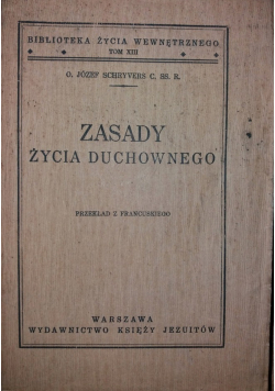 Zasady Życia Duchownego 1939 r.