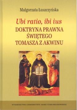 Ubi ratio ibi ius Doktryna prawna...