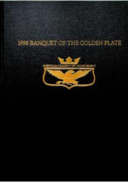 1998 banquet of the golden plate