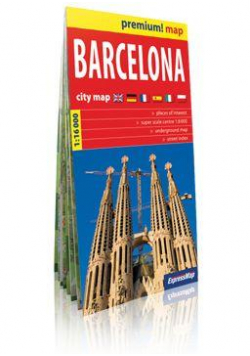 Premium!map Barcelona 1:16 000 plan miasta