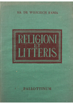 Religioni et Litteris Wstępna nauka łaciny kościelnej