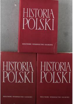 Historia Polski 3 tomy