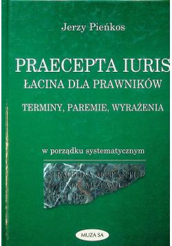Praecepta Iuris Łacina dla prawników