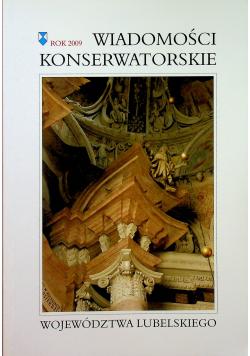 Wiadomości konserwatorskie województwa Lubelskiego