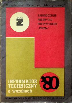 Informator techniczny o wyrobach