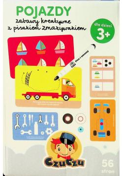 CzuCzu Pojazdy Zabawy kreatywne z pisakiem zmazywakiem