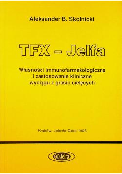 TFX Jelfa Własności immunofarmakologiczne
