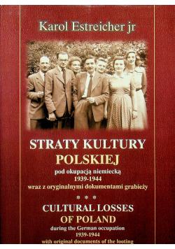 Straty kultury polskiej pod okupacją niemiecką 1939 - 1944