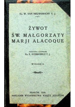 Żywot św Małgorzaty Marji Alacque 1930 r
