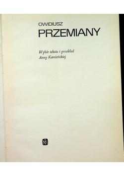 Owidiusz Przemiany