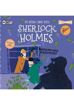 Sherlock Holmes T.4 Nakrapiana przepaska CD