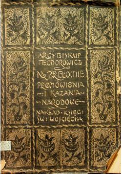 Na przełomie przemówienia i kazania narodowe 1923 r.