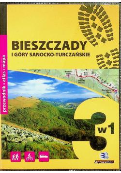 Bieszczady i Góry Sanocko Turczańskie