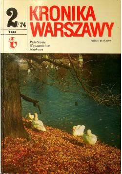 Kronika Warszawy 2/74