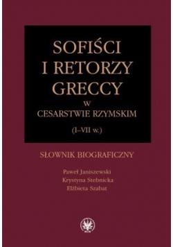 Sofiści i retorzy greccy w cesarstwie rzymskim...