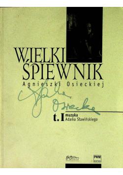 Wielki śpiewnik Agnieszki Osieckiej tom 1