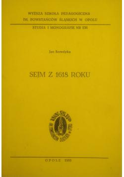 Sejm z 1618 roku