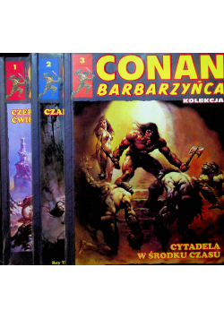Conan Barbarzyńca 3 tomy