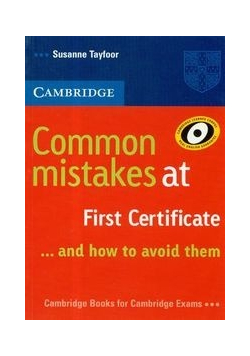 Cambridge common mistakes at first certificate