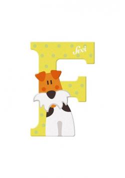 Litera F Zestaw zwierzęcy 12 sztuk