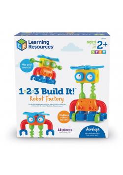 Fabryka Robotów. Zestaw konstrukcyjny 1-2-3
