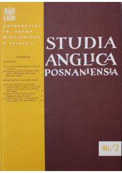 Studia Anglica Posnaniensia Nr 46 / 2