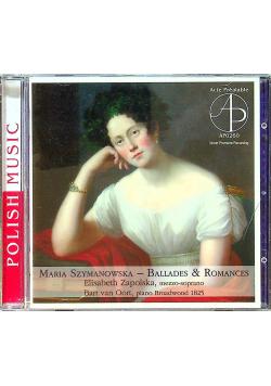 Maria Szymanowska Ballades Romances płyta CD