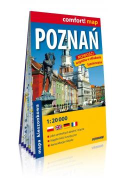 Comfort!map Poznań 1:20 000 plan miasta w.2019