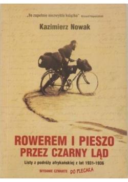 Rowerem i pieszo przez czarny ląd Listy z podróży afrykańskiej z lat 1931 1936