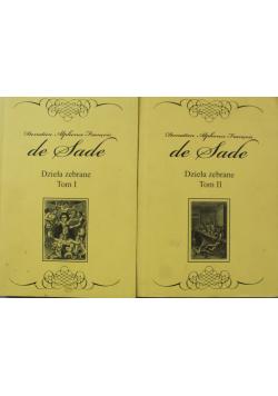 De Sade Donatien Alphonse Francois 2 tomy
