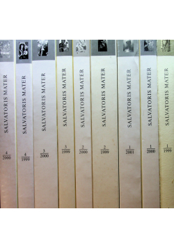 Salvatoris Mater Kwartalnik mariologiczny 9 tomów