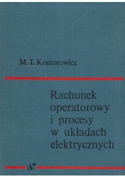 Rachunek operatorowy i procesy w układach elektrycznych