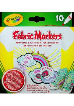 Fabric Markers 10 kolorów