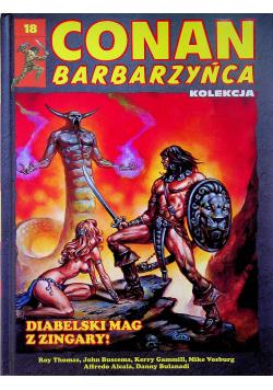 Conan barbarzyńca 18 Diabelski mag z Zingary