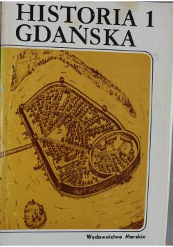Historia Gdańska I tom