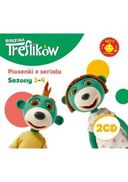 Rodzina Treflików -piosenki z serialu sezon 1-4 CD