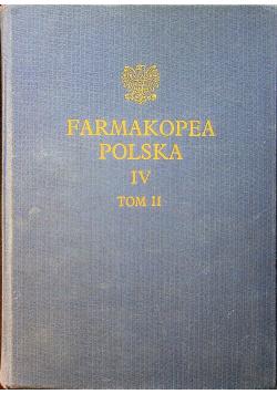 Farmakopea Polska IV Tom II
