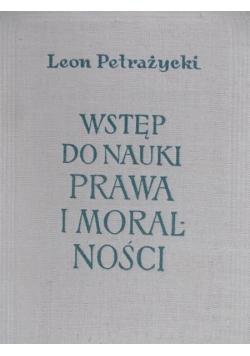 Wstęp do nauki prawa i moralności
